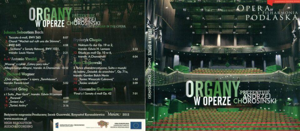 Organy w Operze