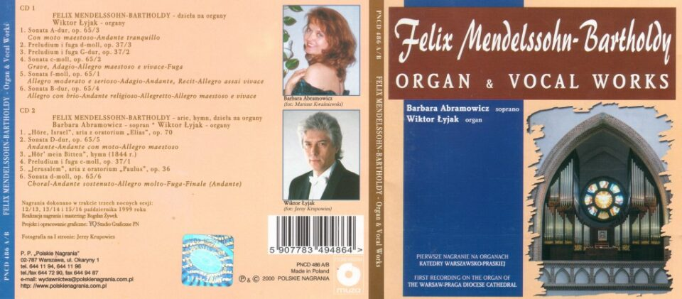 Organ and Vocal Works