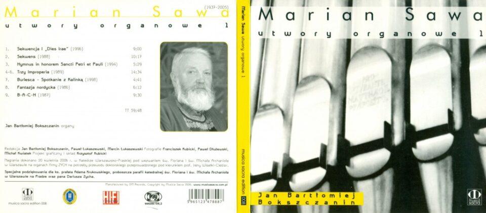 Marian Sawa organ music