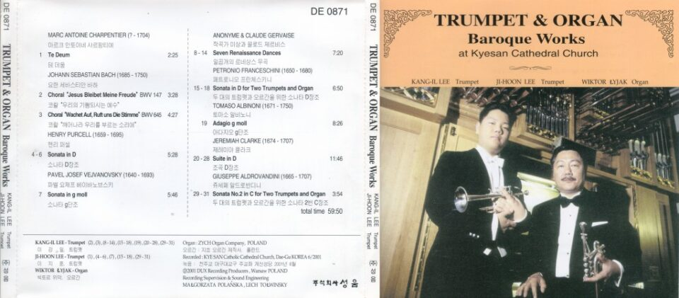 Trumpets and the Organ in the Baroque