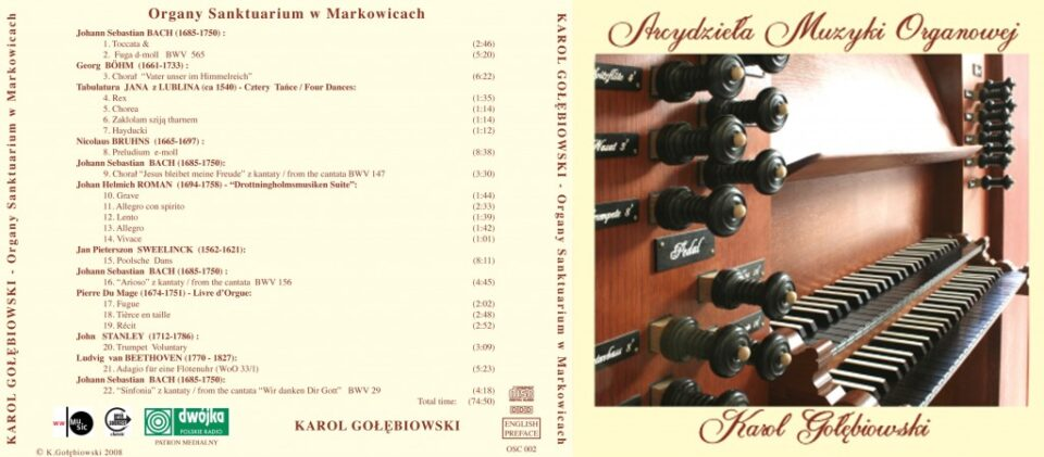 Masterworks of Organ Music