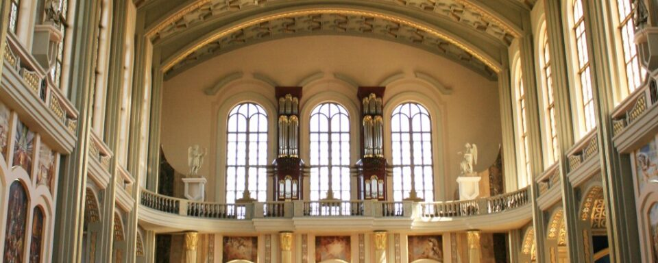 Basilica of Our Lady of Sorrows – east organ