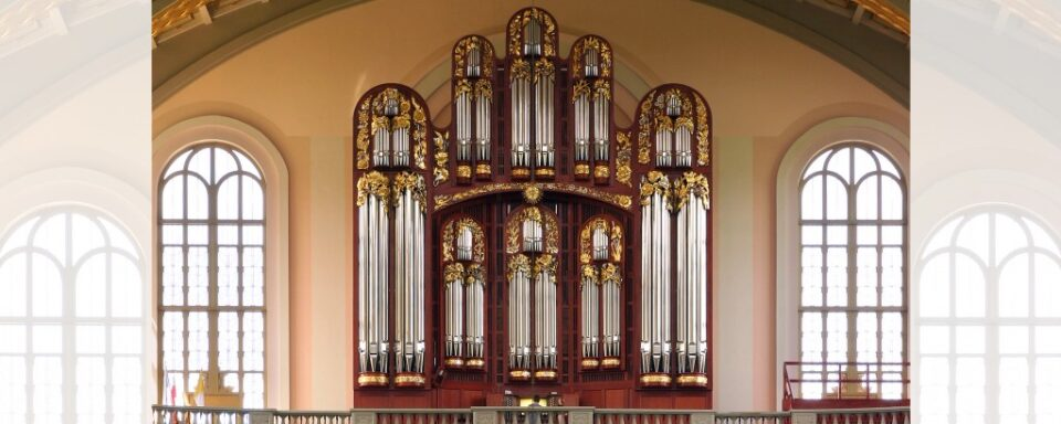 Basilica of Our Lady of Sorrows – west organ